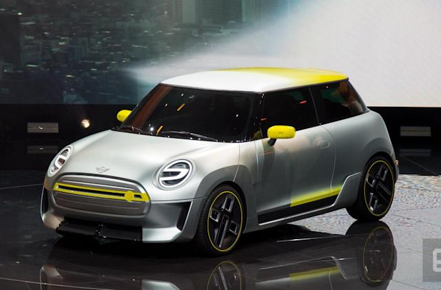 Mini shows off its pure-electric concept car