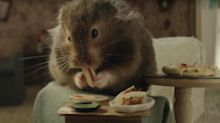 Katy Perry 's new music video 'Chained to the Rhythm' is about a hamster enjoying a tiny gourmet meal