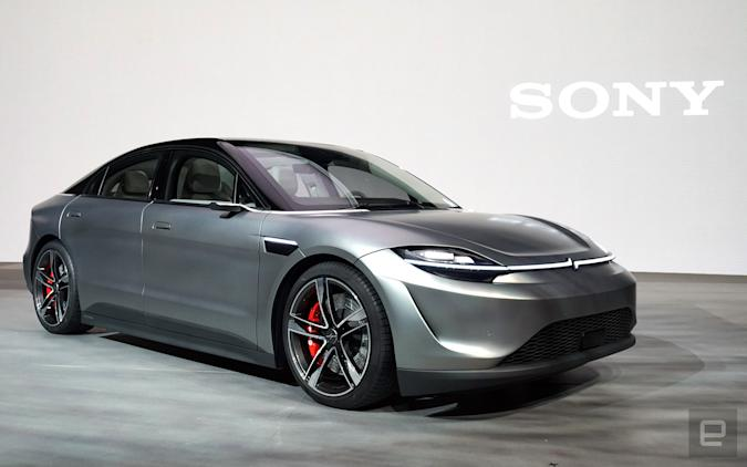 Sony Vision-S electric car