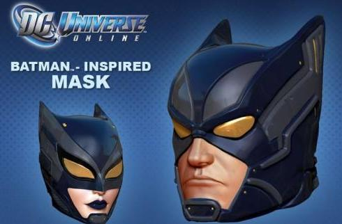 DC Universe Online players getting a new mask as a consolation prize