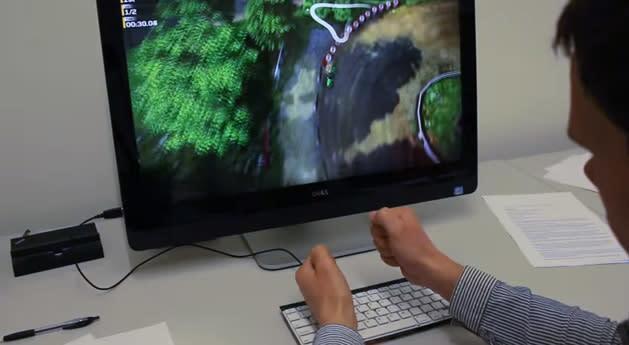 Microsoft's motion-sensing keyboard lets you skip the touchscreen