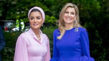Did Queen Maxima Steal Melania Trump's Style?