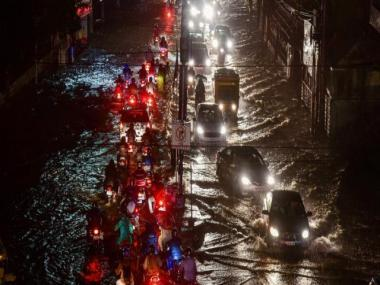 Hyderabad rains: Heavy downpour causes traffic jams, waterlogging in several areas