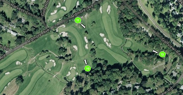 youve heard a lot about golfers starting out on the back nine during the first two rounds of this years us open at merion golf club