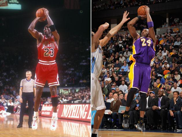 5b61809959c0 ... video evidence that would serve as suitable fodder for a highlight  package pointing out the similarities between Michael Jordan and Kobe  Bryant s ...