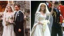 Princess Beatrice's wedding dress perfectly mirrored her mum Sarah Ferguson's gown