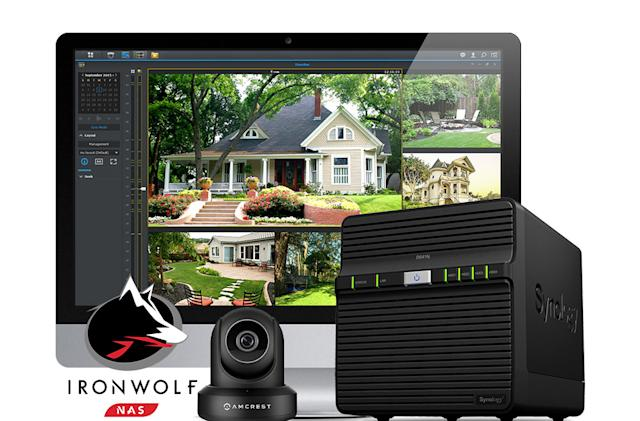 Engadget giveaway: Win a smart home surveillance kit courtesy of Synology!