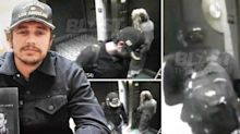 Surveillance Video Shows James Franco With Amber Heard One Day After Blowout Fight With Johnny Depp