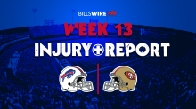 Bills at 49ers: Thursday injury reports