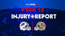 Bills at 49ers: Thursday injury reports
