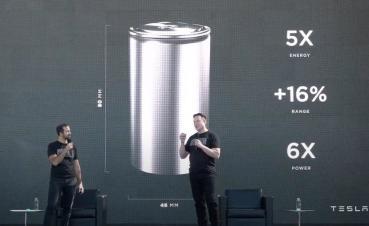 松下將與特斯拉合作生產 4680 新電池,原型產線已準備開始建設