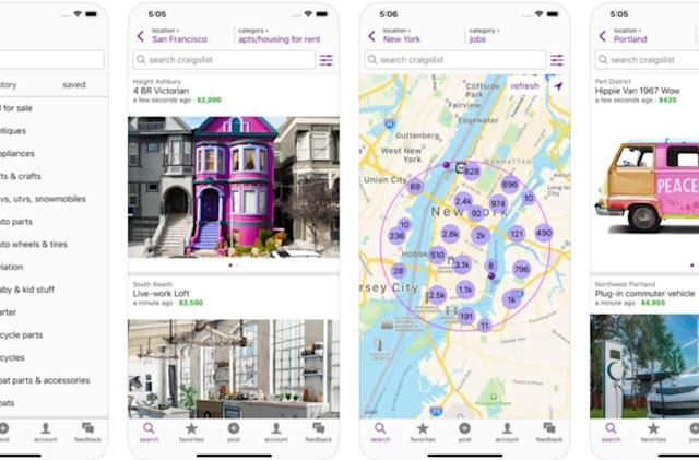 Craigslist only took 11 years to make its own iOS app