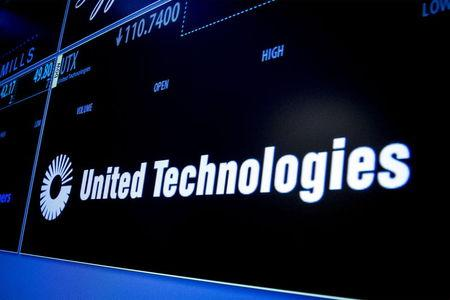 News post image: United Technologies Stock Falls 7%