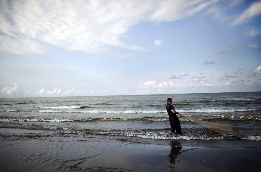 The Caspian Sea borders Azerbaijan, Kazakhstan, Iran, Russia and Turkmenistan (AFP Photo/BEHROUZ MEHRI)