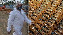 City ravaged by coronavirus 'reaches herd immunity'