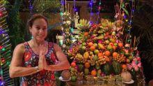 Em grande estilo, Cissa Guimarães aproveita férias na Ásia