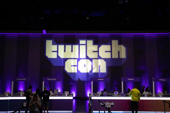 SAN DIEGO, CA - SEPTEMBER 29: Stage at TwitchCon at San Diego Convention Center on September 29, 2019 in San Diego, California. (Photo by Martin Garcia/ESPAT Media/Getty Images)