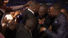 Stormzy's Brit Award celebrations are the purest we've ever seen
