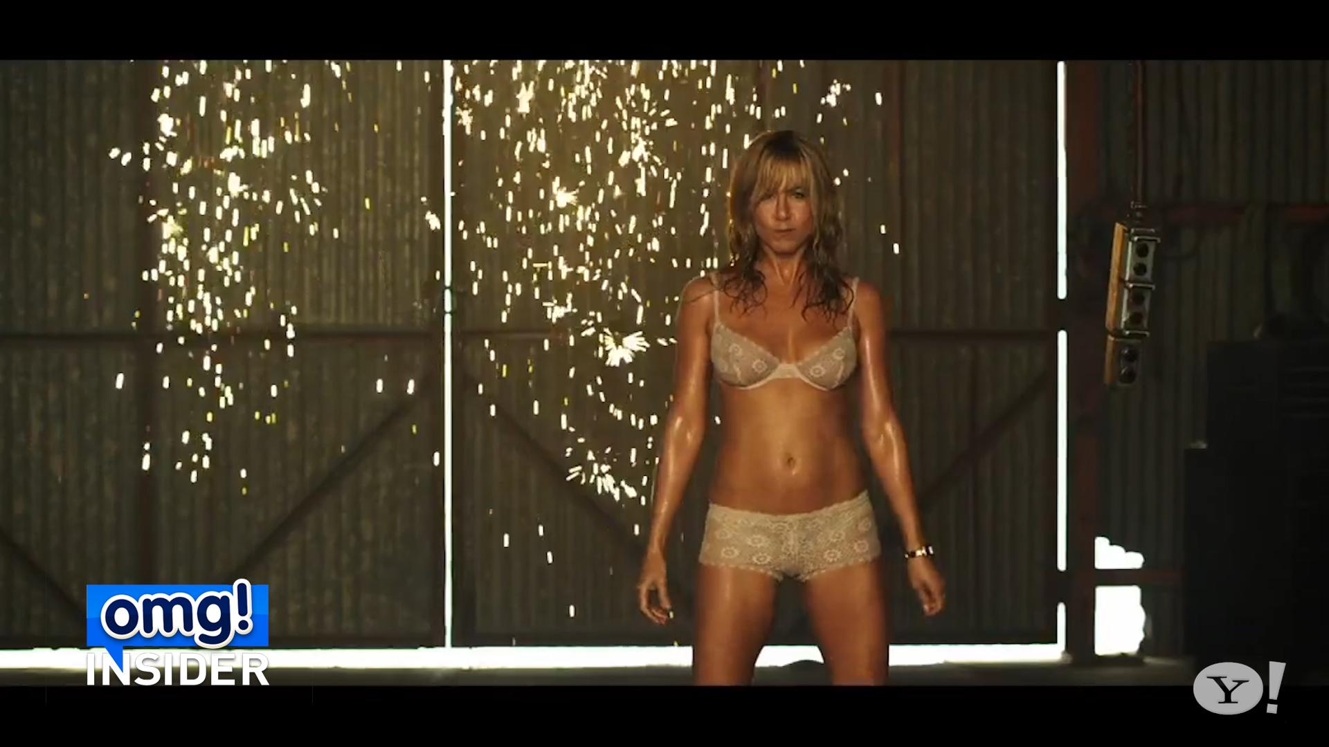Jennifer aniston the millers strip