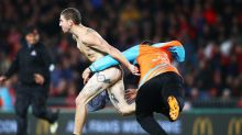 Patient Streaker Interrupts Lions Rugby Match in Freezing Temperatures