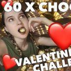 Sweet Valentine: Model Eats 60 Ferrero Rocher Chocolates in Valentine's Day Challenge