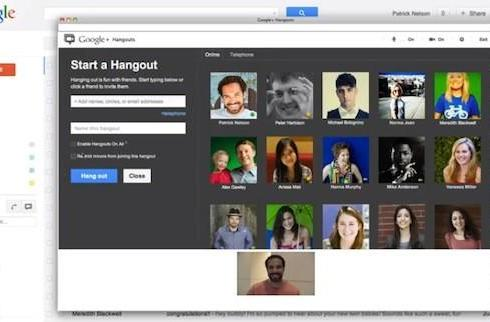 Hangouts come to Gmail, let you launch virtual meetings from your inbox