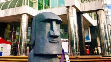 巨型摩艾像降臨百貨!台南旅遊必拍新亮點
