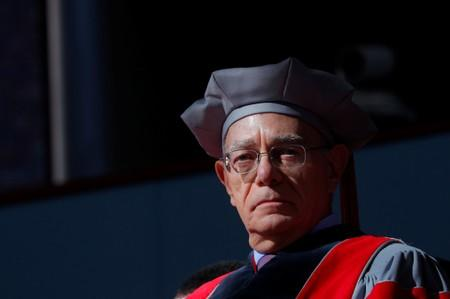 Rafael Reif, President MIT attends the inauguration of Lawrence Bacow as the 29th President of Harvard University in Cambridge