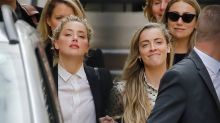 "La defensa de Johnny Depp muestra un video del ""ataque"" de Amber Heard a su hermana"