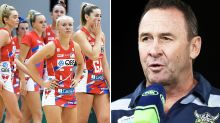 'Not good enough': Netball world seethes over Ricky Stuart comment