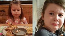 「我們真的只能吃媽媽做的飯嗎?」英國4歲女孩得知麥當勞、KFC不營業 立即淚崩心情猶如世界未日