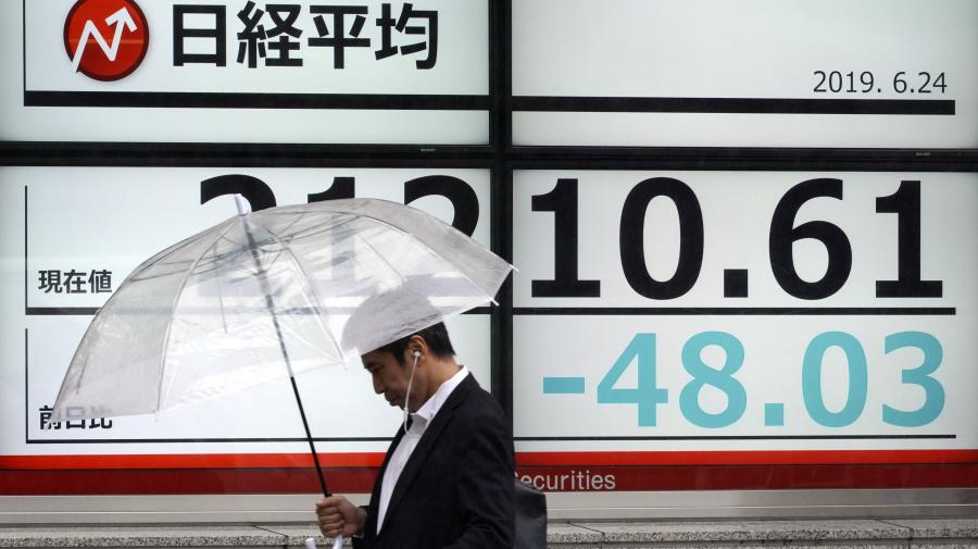 Asian shares advance ahead of Trump-Xi meeting