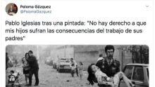 Críticas a una diputada del PP por usar una foto de un atentado de ETA para atacar a Pablo Iglesias