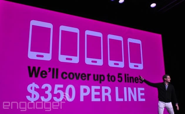 T-Mobile will soon pay you to switch from a smaller carrier