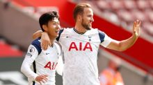 Son, Kane team up four times in Spurs' big win over Southampton