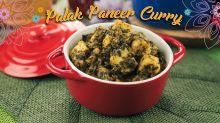 Palak Paneer Curry