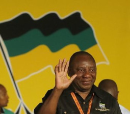 South African union backs unionist-turned-tycoon Ramaphosa as next president