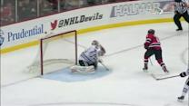 Antti Raanta stops breakaway with the glove
