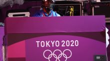 Olympics-Basketball 3x3-At first medal matches, DJ Lass is there to pump up the volume