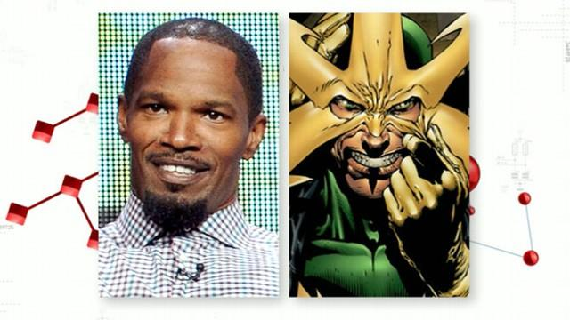 Jamie Foxx Rumored to Play Spiderman Villain in Next Movie