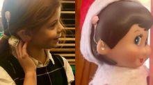Garotinha com implante auditivo ganha boneca com o mesmo aparelho