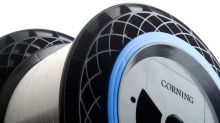 Corning Builds a Moat of Fiber Optic Cable