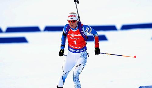 Biathlon: Laukkanen widmet Sieg verstorbenem Schießtrainer