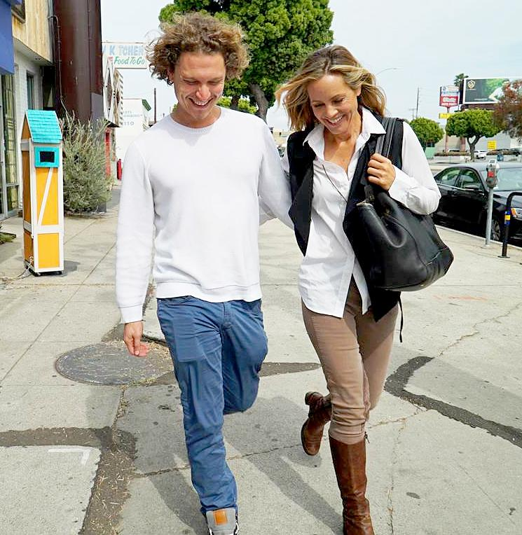 Maria Bello rebounds with 29-year-old guy after split with