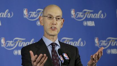 Adam Silver 'definitely' thinks the NBA will have a female head coach, maybe 'sooner rather than later'