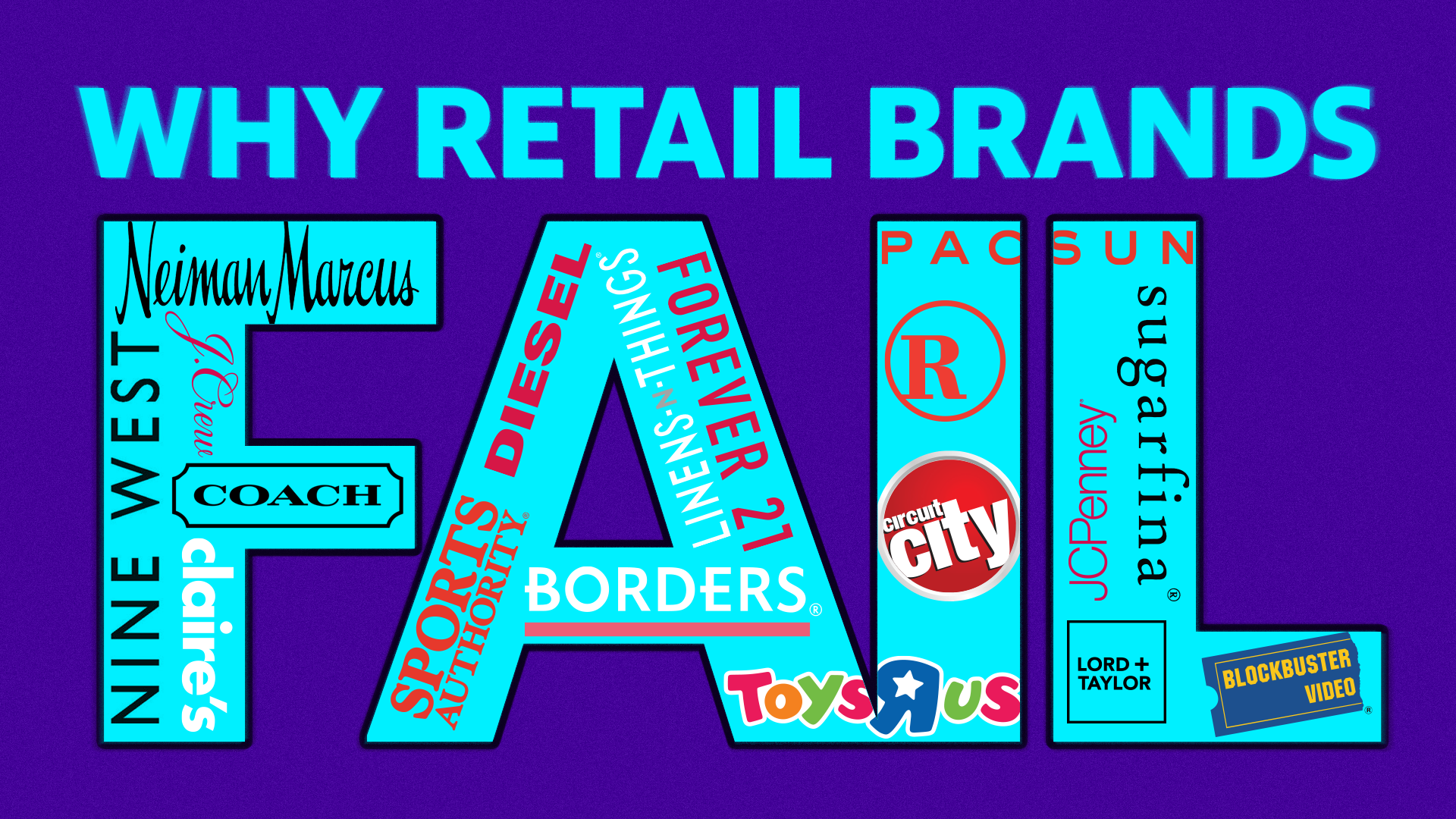 3 reasons why retail brands fail and fade away [Video]