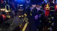 Children among dead in Italy nightclub stampede
