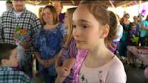 Hundreds Come Together For Shakopee Girl's 10th Birthday Party