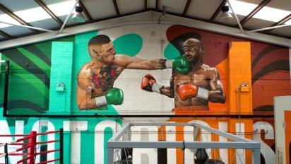 The story behind McGregor's massive mural