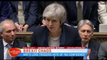 UK PM Theresa May's Brexit deal rejected